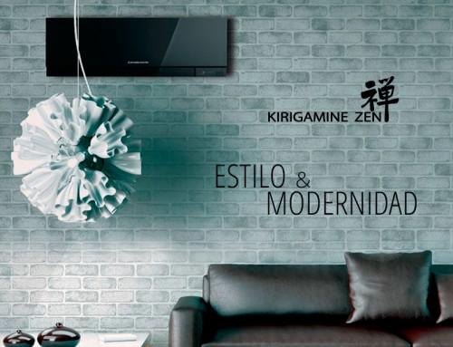 Ventajas de los nuevos equipos de aire acondicionado Kirigamine Zen